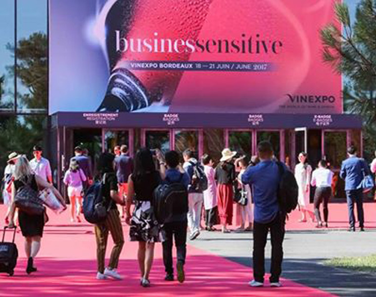 "Participamos en una nueva edición de Vinexpo ""Busines Sensitive""- Burdeos, Francia"